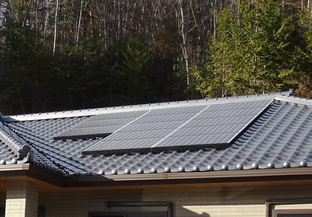 自然エネルギーを取り入れた家