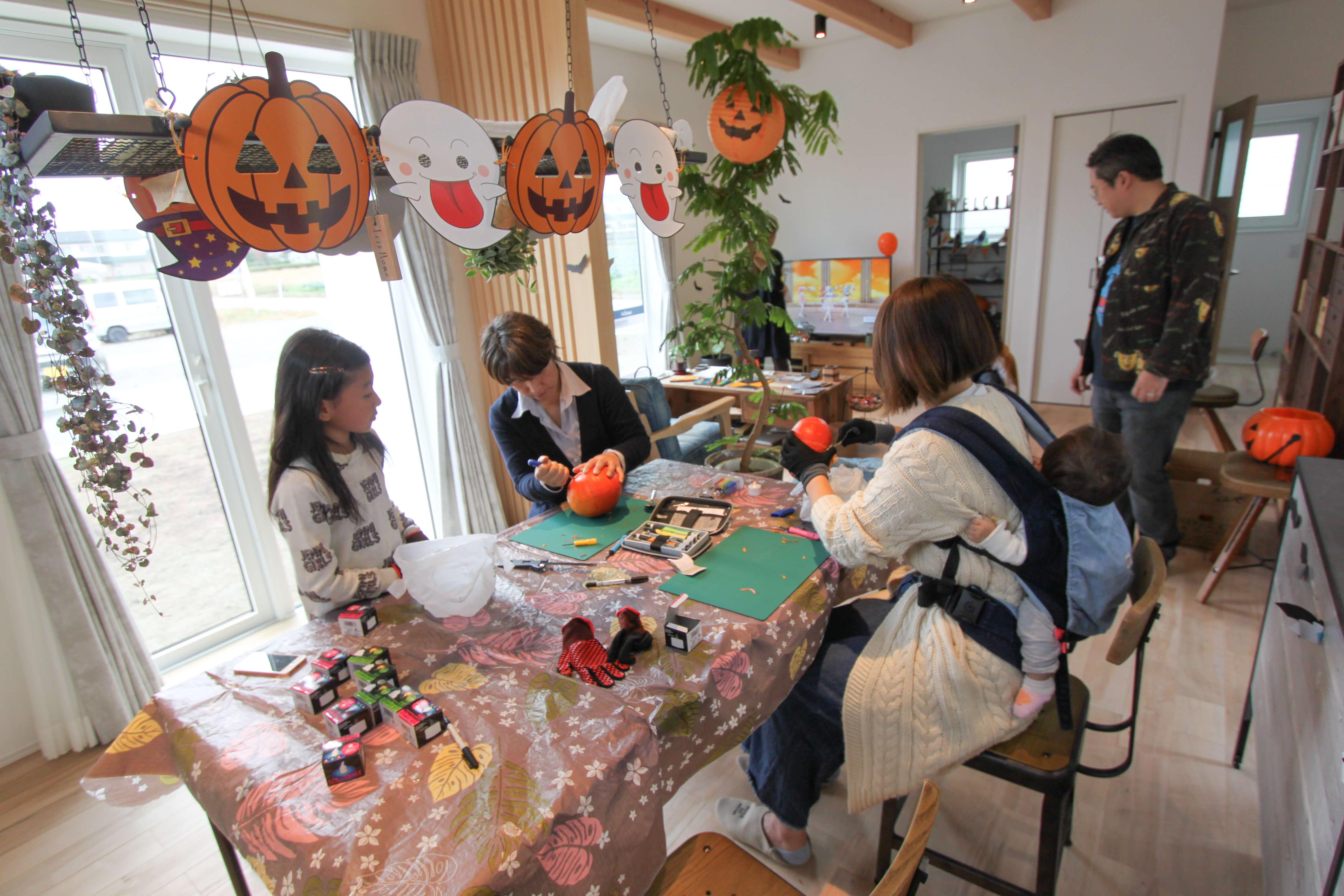 【ご来場ありがとうございました♪】親子イベント・ハロウィンパーティー