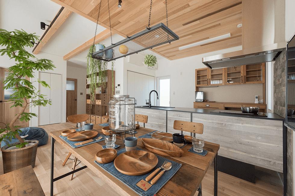 ダイニングキッチン_大木戸モデルハウス