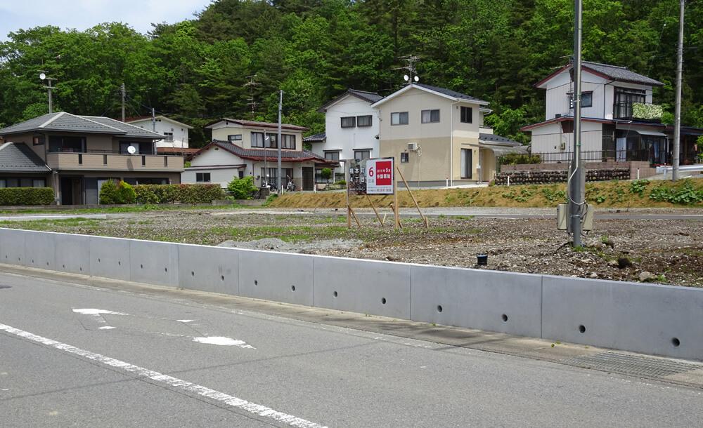ついに橋本町分譲地の 造成工事が完了!