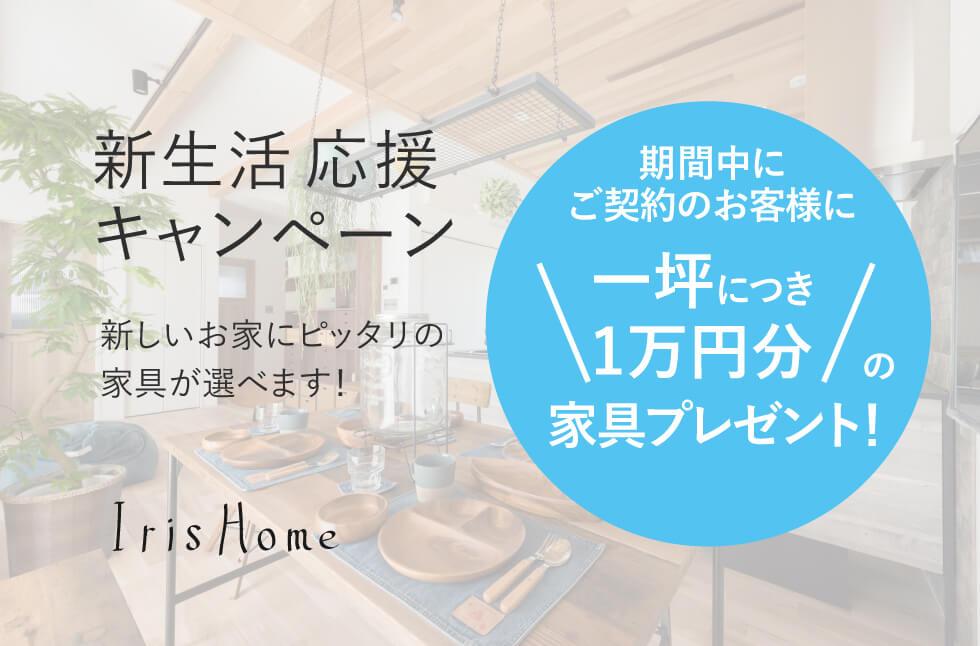 第一回!!新生活応援キャンペーンのお知らせ☆